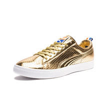 PUMA CLYDE - GOLD | Undefeated