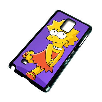LISA SIMPSONS Samsung Galaxy Note 4 Case