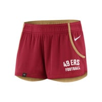 Nike Stadium Mesh (NFL 49ers) Women's Training Shorts