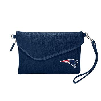 New England Patriots Tailgate Pebble Purse