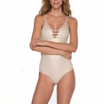Fishbone Gold One Piece