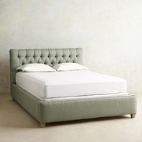 Tufted Lena Bed by Anthropologie