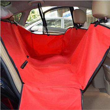 Pet Car Seat Cover Dog Cat Safe Safety Travel Hammock Mat Blanket