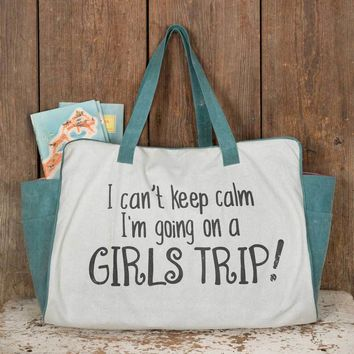 Future ship 09/27 - Girls Trip Weekender Bag
