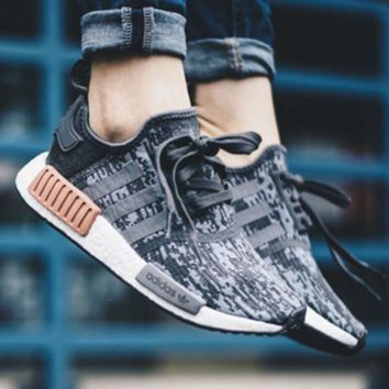 adidas NMD R_1 Boost Fashion Casual Running Sport Casual Shoes G
