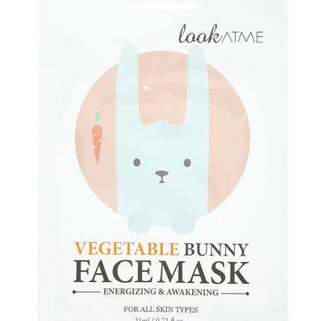 Vegetable Bunny Face Mask - Accessories - Beauty - 1000106361 - Forever 21 Canada English