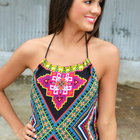 Diamond in the Sky Halter Tank