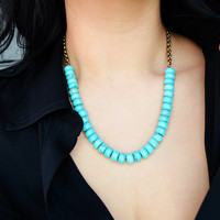 Turquoise Necklace and Chain