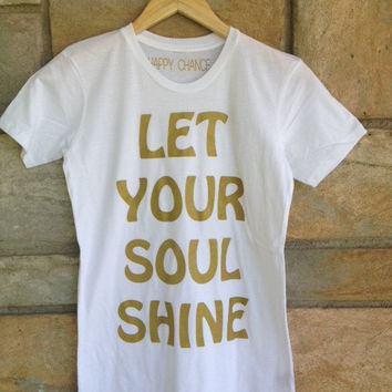 Soul Shine Favorite Crewneck  white by HappyChanceApparel on Etsy