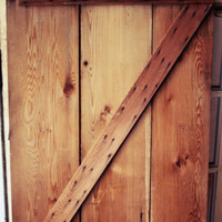 "Antique Barn Door 32"" x 68"""