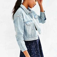 BDG Cropped Boxy Trucker Jacket