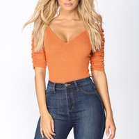 Daphne Bodysuit - Orange