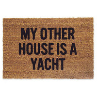 My Other House Is A Yacht Doormat | Waiting On Martha