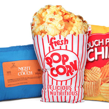 Movie Night Accent Pillows