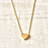I Heart it Necklace - Gold