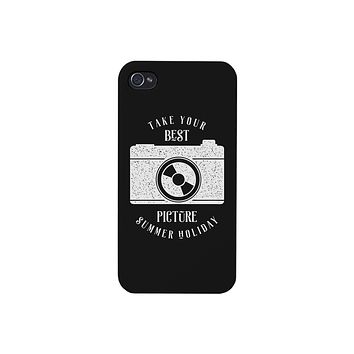 Take Your Best Picture Summer Holiday Black Phone Case