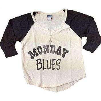 Junk Food Womens Monday Blues Shirt