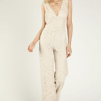 Lost In Lace Jumpsuit