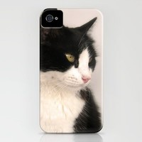 Cat iPhone Case by Ornaart | Society6