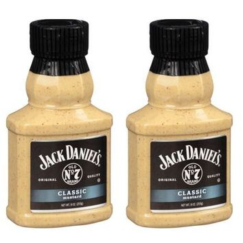 Jack Daniels Classic Mustard Old No. 7 (Pack of 2)