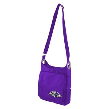 Baltimore Ravens NFL Color Sheen Cross-body