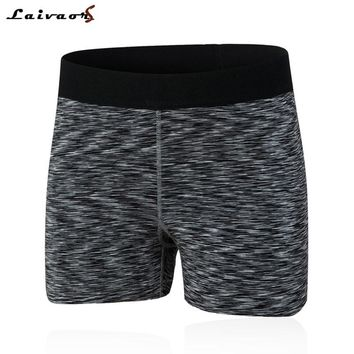 Women Yoga Shorts Breathable Sports Running Shorts Fitness Pure Cotton Bottom Elastic Ladies Tight Shorts Workout Legging Shorts