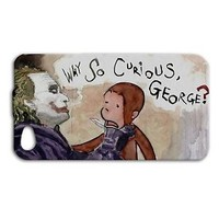 Apple Funny Joker Batman Curious Fun Case iPhone iPod Phone Cover Cool Custom