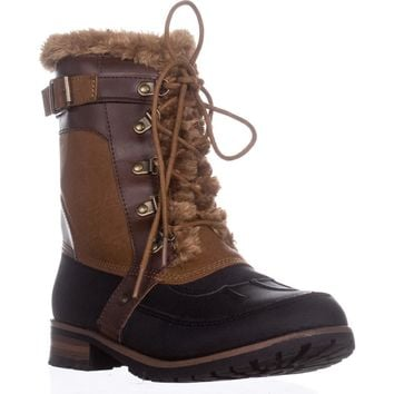Rock & Candy Danlea Mid-Calf Winter Boots, Blkfx, 10 US