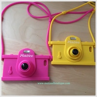Retro Camera iPhone 6 Soft Case - Multiple Colors