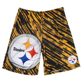 Pittsburgh Steelers Official NFL Reprint Shorts