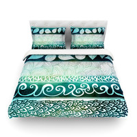 "Pom Graphic Design ""Dreamy Tribal"" King Cotton Duvet Cover - Outlet Item"