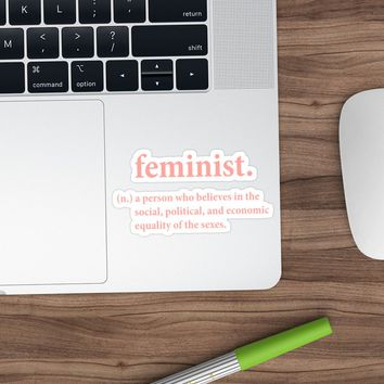 'feminist definition' Sticker by andysRoses