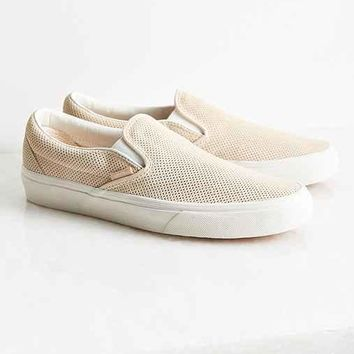 Vans Perforated Suede Slip-On Sneaker