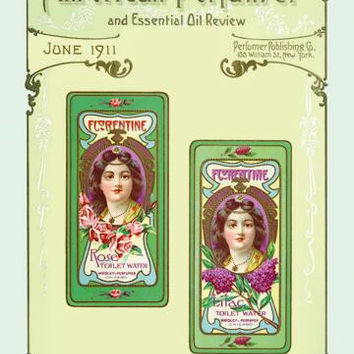 American Perfumer and Essential Oil Review, June 1911 20x30 poster