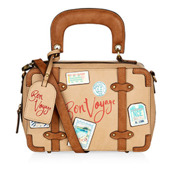 Bon Voyage Across Body Bag | Brown | Accessorize