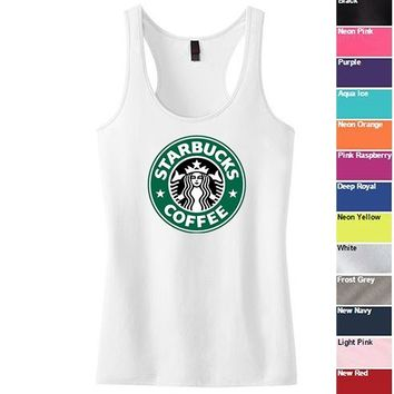 Starbucks Racerback Tank Top