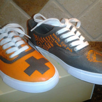 Ed Sheeran Shoes 2 Custom by OnTheOtherFoot on Etsy