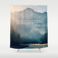 The Sweetest Thing Shower Curtain by RDelean