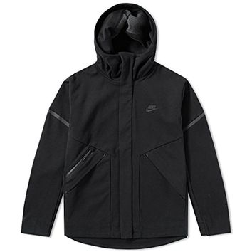 Nike Sportswear Tech Fleece Repel Windrunner Jacket Men Black Heather 867658-010