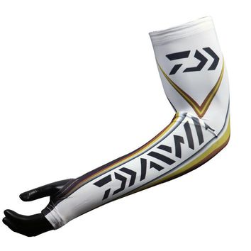 Daiwa Running Gloves Arm Sleeve Long Type Sunscreen Cuff Female Summer Outdoor Car Driving Mittens Ice Fishing Gloves