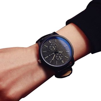 Relogio Masculino Men Watch Minimalist Watches Top Brand Luxury Business Big Dial Lovers Clock Reloj