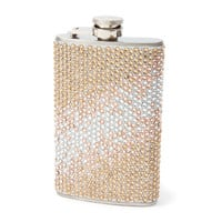Champagne Bling Ombre Flask
