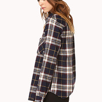 Crisp Plaid Shirt