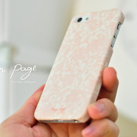 Apple iphone case for iphone iphone 5 iphone 4 iphone 4s iPhone 3Gs  : Abstract pink flower pattern