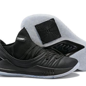 Under Armour SC30 Stephen Curry 5 Low Black Basketball Shoe