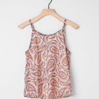 Girls - Side Of Fries Paisley Tank Top