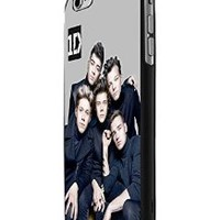 One Direction Boyband Poster Custom Case for Iphone 5/5s Iphone 6/6 Plus Black and White (iPhone 6 Black Plastic)