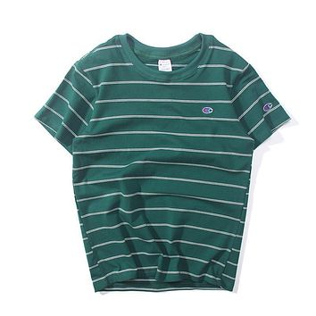 Mens Champion Striped T-shirt 321