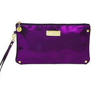 NWT Yuma Bella Cosmetic Bag Purple Metallic Gorgeous!