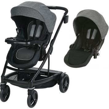 Graco Baby UNO2DUO Twin Tandem Double Stroller w/ Second Seat Ellington 2018 NEW